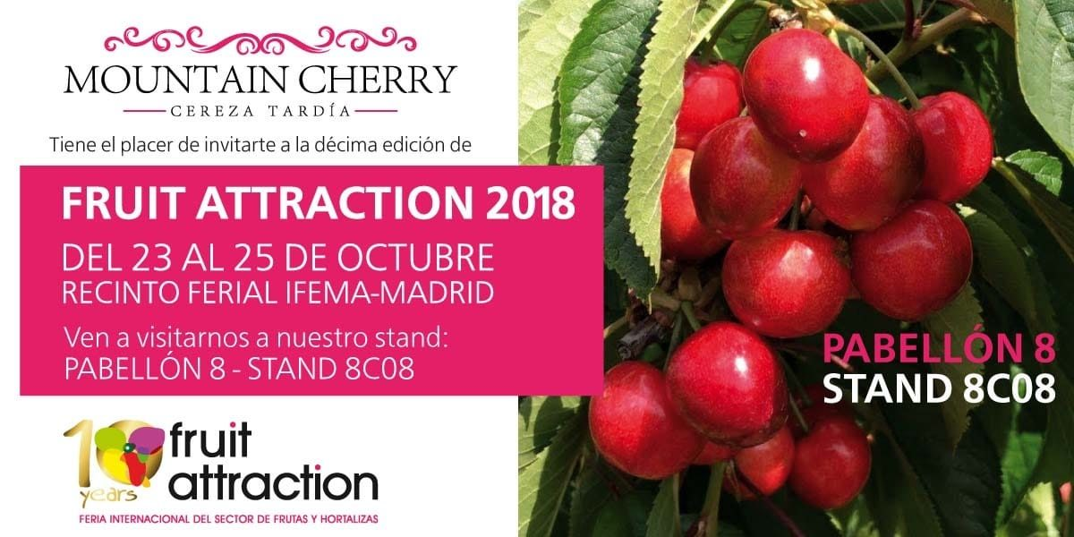 Mountain Cherry en Fruit Attraction 2018